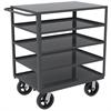 Akro-Mils 5-Shelf Cart No Bins, 24x36,, Gray
