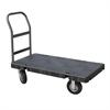 Akro-Mils Versa/Deck Truck, Handle A w/ Crossbars, Black Deck/Gray Handle