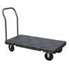 Akro-Mils Versa/Deck Truck, Handle A, Polyolefin, Black Deck/Gray Handle