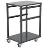 3 Shelf Rack For Jumbo Lug Tub, Gray