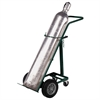 Akro-Mils Hand Truck, Single Cylinder Gas, Green