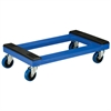 Plastic Dolly, Padded, Blue
