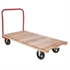 Plat Truck, Wood, Red