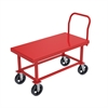 Akro-Mils HD Work Height Platform Truck, Steel,, Red
