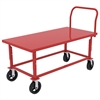 Akro-Mils HD Adj Work Height Platform Truck, Red