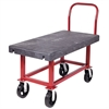 Akro-Mils HD Work Ht Platform Trk Structural Foam, Red