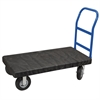 ULTRA/Deck, Handle A Crossbars, Black Deck/Blue Handle
