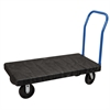 Akro-Mils ULTRA/Deck Handle A Open Polyolefin 24W, Black Deck/Blue Handle