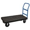 Akro-Mils ULTRA/Deck, Handle A , Polyolefin, Black Deck/Blue Handle