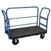 ULTRA/Deck, Handle H, Polyolefin, 24W, Black Deck/Blue Handle