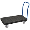 Akro-Mils ULTRA/Deck, Handle A Open, Easy Roll, Black Deck/Blue Handle