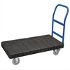 ULTRA/Deck, Handle A Crossbars, Black Deck/Blue Handle