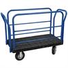 Akro-Mils ULTRA/Deck Handle L, Pneumatic, 24W, Black Deck/Blue Handle