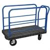 Akro-Mils ULTRA/Deck, Handle G, Mold-On Rubber, Black Deck/Blue Handle