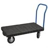 Akro-Mils ULTRA/Deck, Handle A Open, Pneumatic, Black Deck/Blue Handle