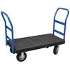 Akro-Mils ULTRA/Deck, Handle B, Pneumatic, 30W, Black Deck/Blue Handle