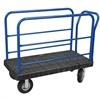 Akro-Mils ULTRA/Deck, Handle G, Pneumatic, 30W, Black Deck/Blue Handle