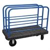 Akro-Mils ULTRA/Deck, Handle D, Polyolefin, 30W, Black Deck/Blue Handle