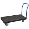 Akro-Mils ULTRA/Deck, Handle A Open, Black Deck/Blue Handle