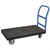 Akro-Mils ULTRA/Deck, Handle A Crossbars, Black Deck/Blue Handle