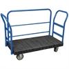 Akro-Mils ULTRA/Deck, Handle H, Polyurethane, 30W, Black Deck/Blue Handle
