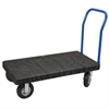 ULTRA/Deck, Handle A Open, Pneumatic, Black Deck/Blue Handle