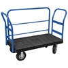 ULTRA/Deck, Handle H, Pneumatic, 30W, Black Deck/Blue Handle