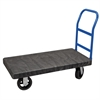 Akro-Mils ULTRA/Deck, Handle A Crossbar, Black Deck/Blue Handle