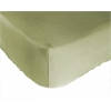 Rayon from Bamboo Crib Sheet in Sage