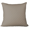 BedVoyage Rayon from Bamboo Quilted Euro Sham in Champagne