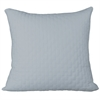 BedVoyage Rayon from Bamboo Quilted Euro Sham in Sky