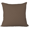 Rayon from Bamboo Quilted Euro Sham in Mocha