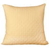 BedVoyage Rayon from Bamboo Quilted Euro Sham in Butter