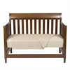 BedVoyage Rayon from Bamboo Crib Bundle in Champagne