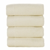 BedVoyage Rayon from Bamboo blend Resort Washcloth (4pk) in Ivory