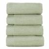 BedVoyage Rayon from Bamboo blend Resort Washcloth (4pk) in Sage