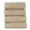 BedVoyage Rayon from Bamboo blend Resort Washcloth (4pk) in Champagne