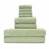 BedVoyage Rayon from Bamboo blend Resort Towel Bundle in Sage