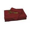 Rayon from Bamboo Twin XL Sheet Set in Cayenne