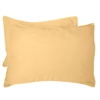 BedVoyage Rayon from Bamboo Standard Shams in Butter