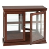Southern Enterprises Double Door Curio - Mahogany