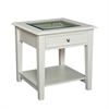 Southern Enterprises Panorama End Table - Off-White
