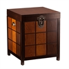 Southern Enterprises Hendrick Trunk End Table