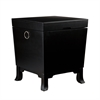 Southern Enterprises Hayden End Table Trunk - Black