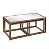 Southern Enterprises Nested Cocktail/End Table 3pc Set