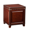 Southern Enterprises Amherst Trunk End Table