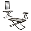Southern Enterprises Vogue Cocktail Table - Black