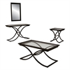 Southern Enterprises Vogue End Table - Black