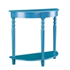 Southern Enterprises Tyra Demilune Table - Blue