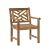Southern Enterprises Teak Arm Chair